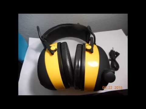 3M work tunes hearing protection/Headphones