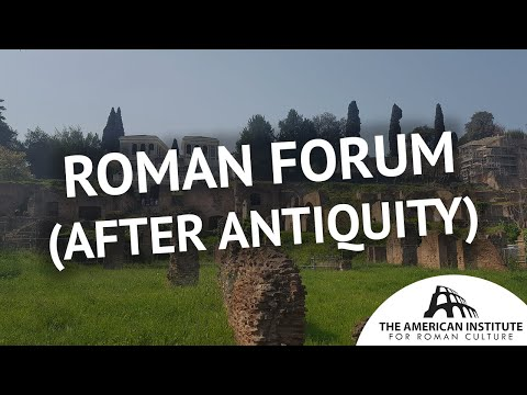 Roman Forum: After Antiquity