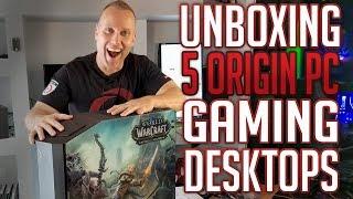 Swifty Gaming House UNBOXING 5 ORIGIN PC Gaming Desktops & Specs