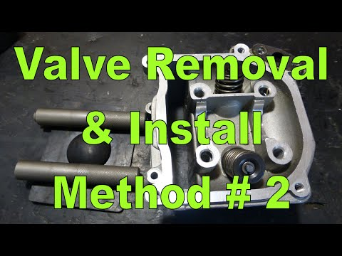 Valve Removal & Installation Method 2 : Specialty Tool (Very Easy)