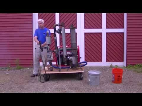 How to start a generator on wood gas