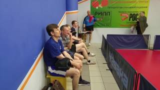 Герасимов Н. - Санаев С. отборочный тур турнира по настольному теннису ЛАЙТ