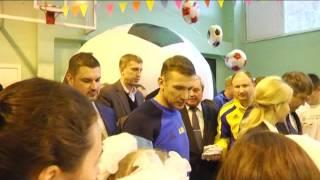 Андрій Шевченко привітав учасників дитячого фестивалю «Відкриті уроки футболу»