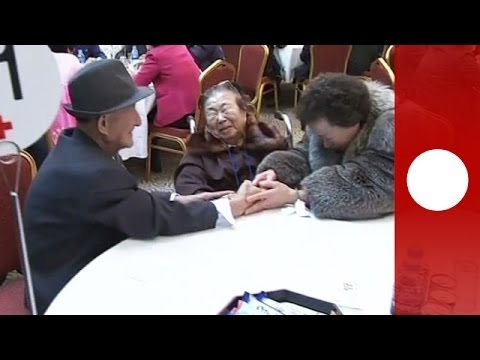 Tearful goodbyes for war-torn Korean families after rare reunion in the North