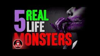 5 Horrifying REAL Monster Sightings! - Darkness Prevails