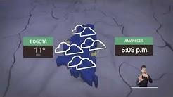 Pronóstico del tiempo - Noche lunes 25 y madrugada martes 26 mayo de 2020
