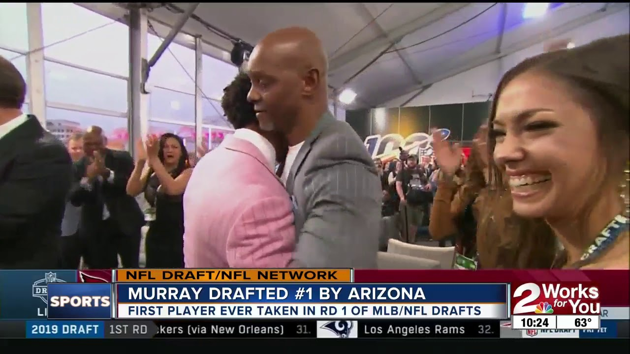 Kyler Murray Makes NFL Draft History at No. 1