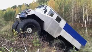 Вездеход «Бурлак» грузовой комплектации. Первые испытания