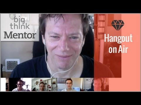 Google+ Hangout with Robert Greene | How to Achieve Mastery