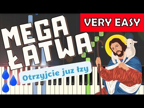 🎹 Otrzyjcie już łzy, płaczący - Piano Tutorial (MEGA ŁATWA wersja) 🎹