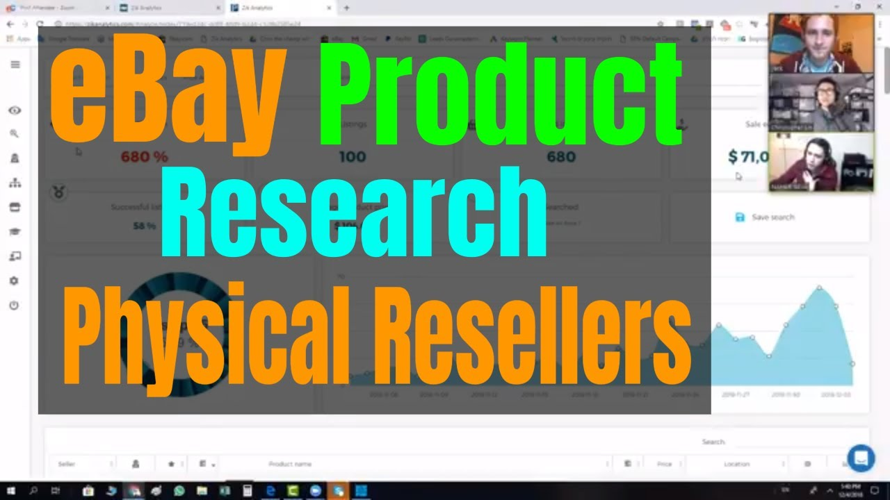 Ebay Product Research For Physical Ebay Resellers Chris Lin Meets Nahar Geva Youtube