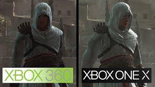 Assassins Creed | Xbox 360 vs Xbox One X | 4K Graphics Comparison | Comparativa