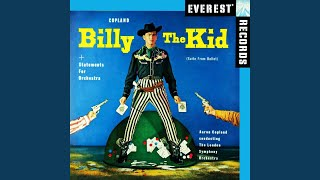 Billy the Kid, Ballet Suite; II. Street in a Frontier Town
