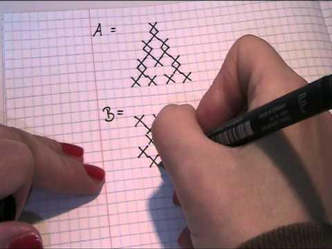 Muster Für Die Buchstaben Sticken Video Teil 1 Youtube
