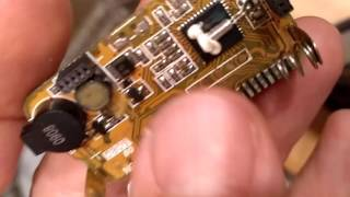 Ремонт дисплея брелка сигнализации