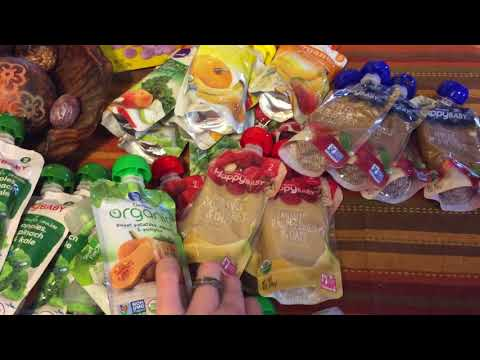 Baby food haul, organization and Choome