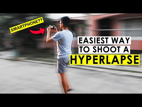EASIEST Smartphone Hyperlapse Tutorial | Shoot A Hyperlapse Using MICROSOFT HYPERLAPSE APP