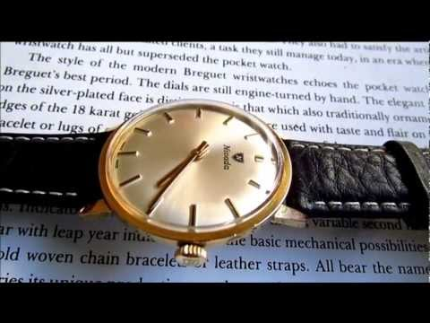 Nivada vintage wristwatch 17 jewels 1960s