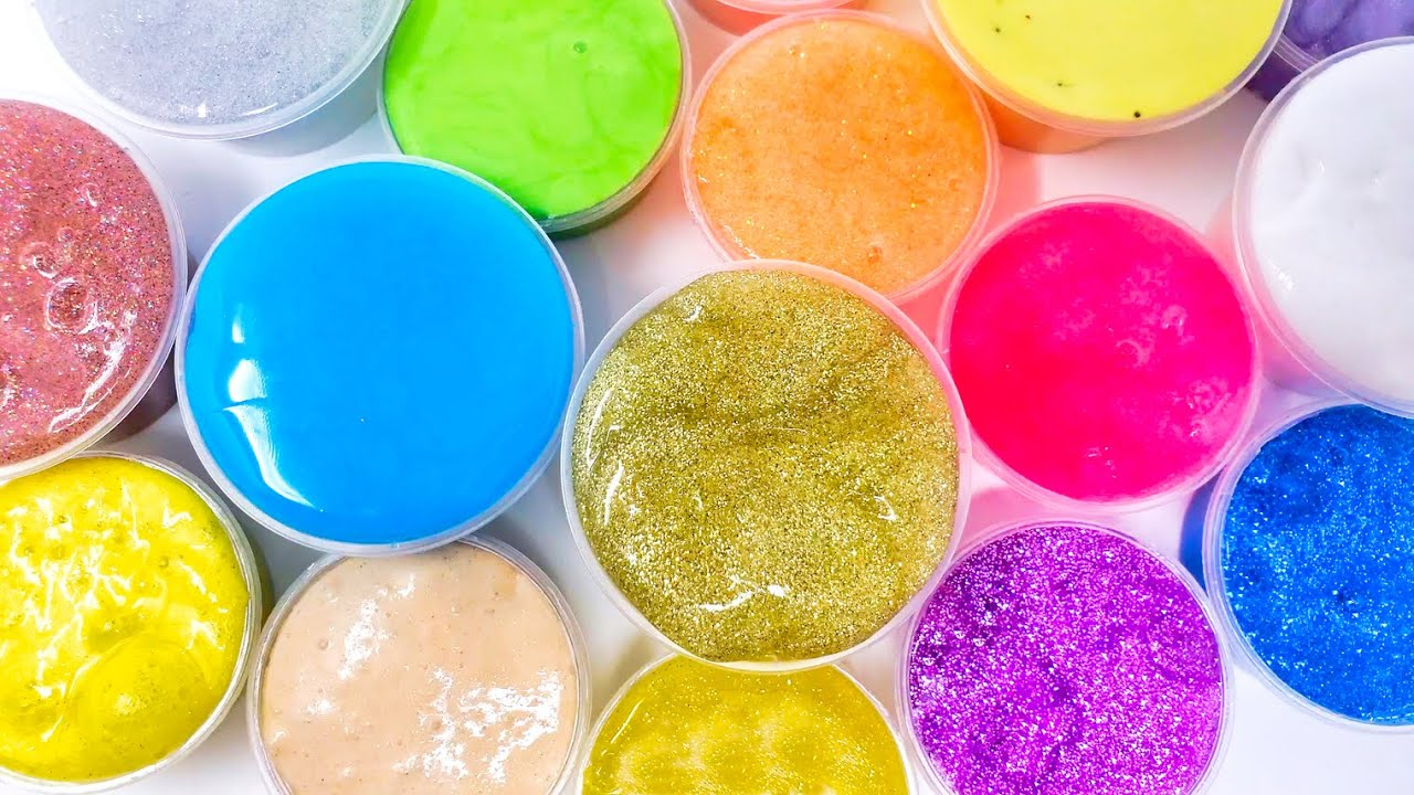 Mix it All! Fun Slime Mixing & Playing: Glitter Slimes, Butter Slimes, and Jelly Slimes ASMR