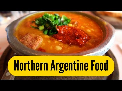 Northern Argentinian Food in Buenos Aires Argentina