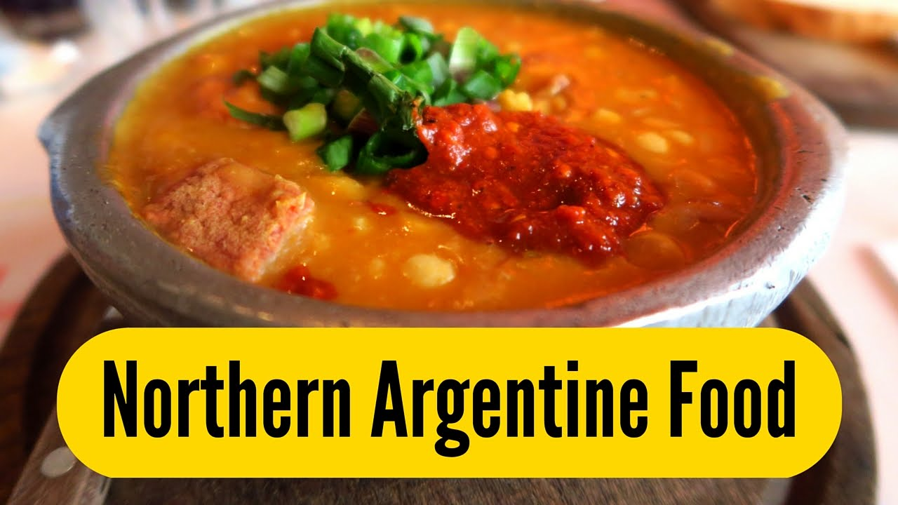 Northern argentinian food in buenos aires argentina youtube for Argentian cuisine