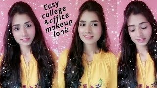 Simple & Easy College/ Office Makeup Look|| Jazz Beauty World