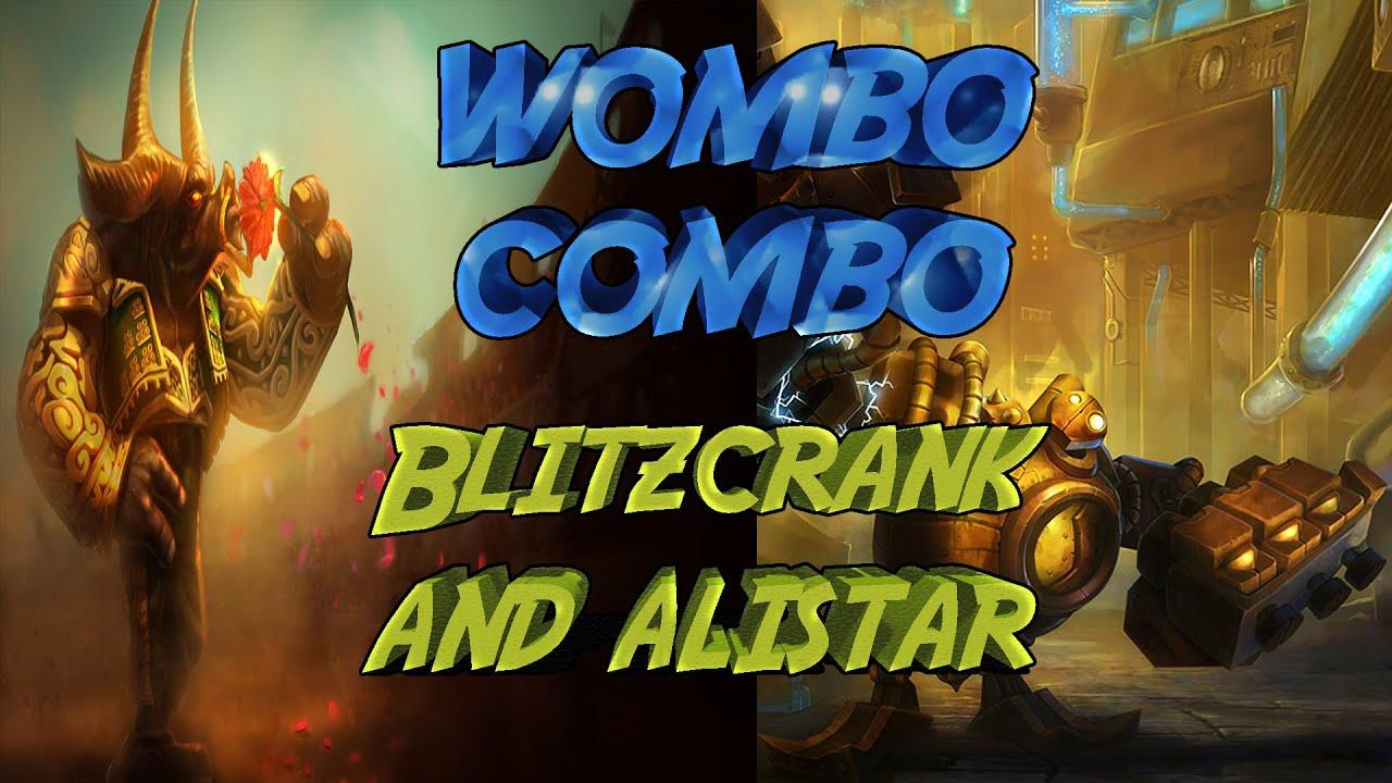The Best Wombo Combo!- Blitzcrank and Alistar Bot Lane (Troll #1)