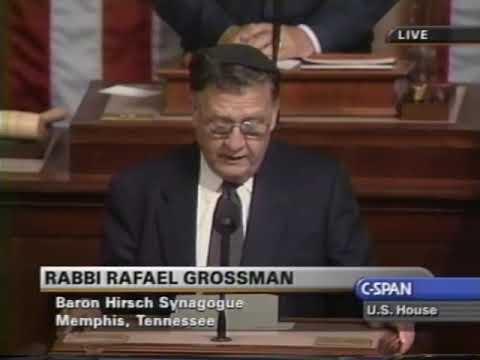 Rabbi Rafael Grossman, Baron Hirsch Synagogue, Memphis, House, June 20, 2001