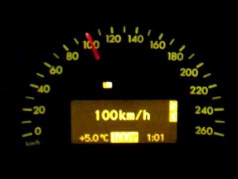Mercedes W203 C200 Kompressor Automatik 100 - 255 Km/h Top Speed Vmax