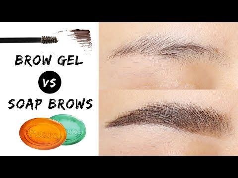 Fluffy Brows - Brow Gel VS Soap Brows