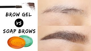 Fluffy Brows - Brow Gel VS Soap Brows