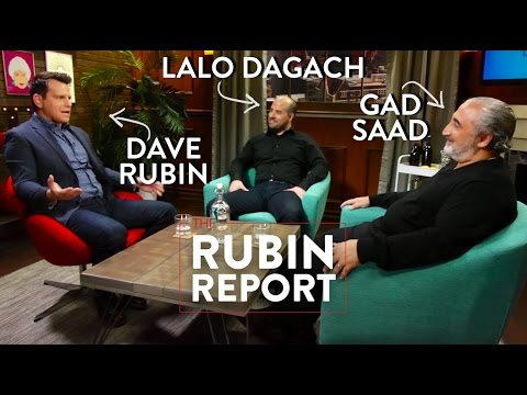 Dave Rubin, Lalo Dagach, and Gad Saad Discuss Waking Up to The Regressive Left