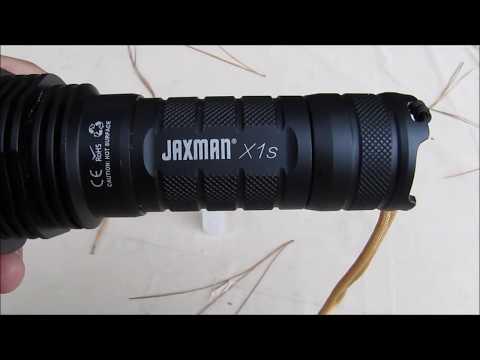 Flashlight Review Jaxman X1S