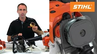How to clean your filter systems from your STIHL equipment