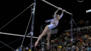 Gymnasts face plants off uneven bars from Universal Sports