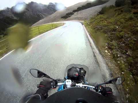 2011 Europe Moto Trip: Fern Pass Fernpassstrasse between Imst and Lermoos, Austria Österreich