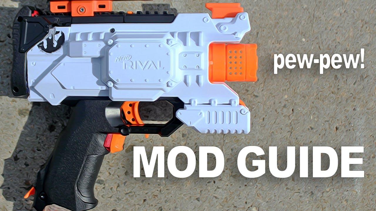 Best Nerf Guns 2017 Mods