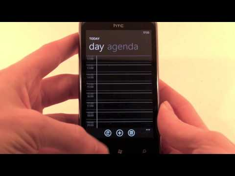 HTC 7 Pro hands-on video