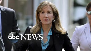 Felicity Huffman sentenced to 14 days in prison in 'Varsity Blues' case I Nightline