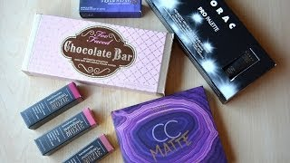 Makeup Haul: Lorac, Tarte, Too Faced, bareMinerals, Urban Decay Thumbnail