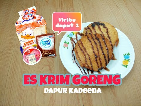 Video Cara Membuat Es Krim Goreng