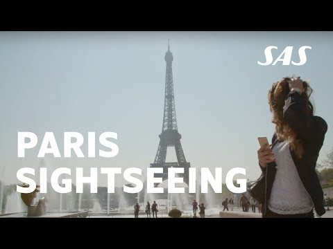 Paris sightseeing tour with Kosovare Asllani – explore the beautiful city | SAS