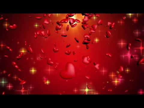 Animated Love Hearts in Motion Effect Video thumbnail