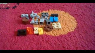 Mini T-Rex Lego