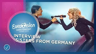 S!sters (Germany ????????): 'We are meme-ing the lyrics all the time!' - Eurovision Song Contest 201