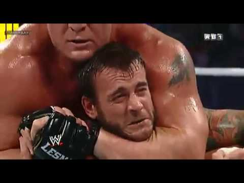 AB1 SUMMERSLAM CM PUNK VS BROCK LESNAR VF