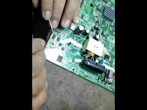 Como Consertar Placa Da Fonte Da Tv Semp Toshiba STi
