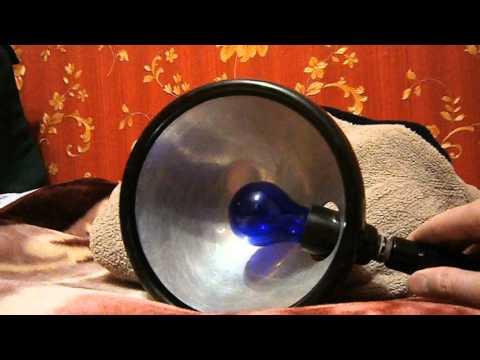 Как греть синей лампой нос ребенку