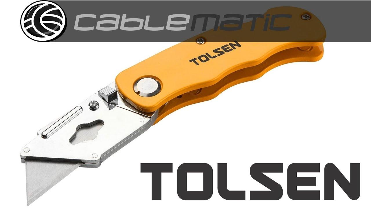 Cutter aluminio plegable cuchilla 61x19mm SK5 de ...
