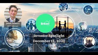 Jonah Tuckman, CEO eBumps at Linked Ventures Investor Spotlight December 17, 2020